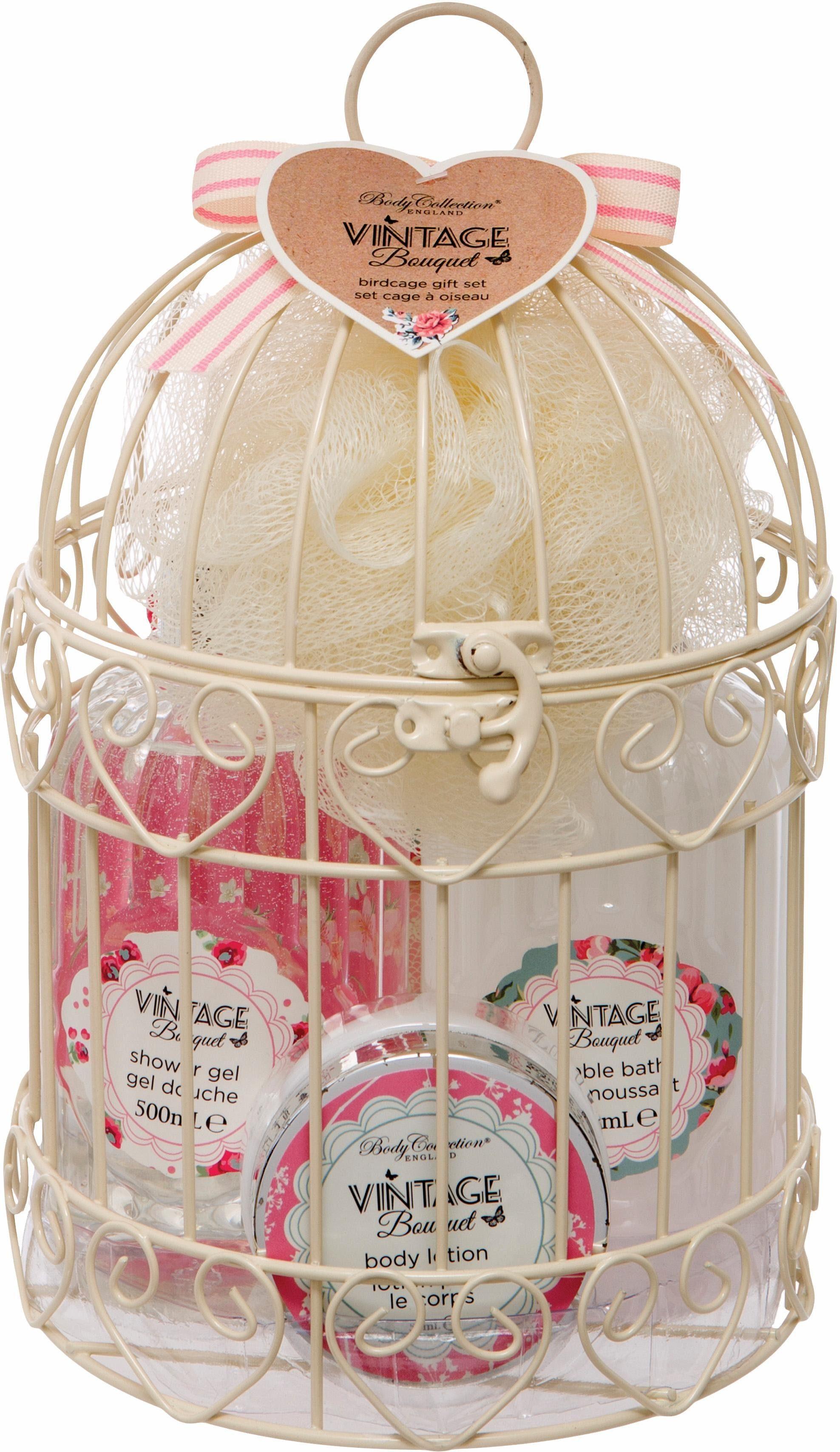 »Birdcage Gift Set«, Körperpflege-Set