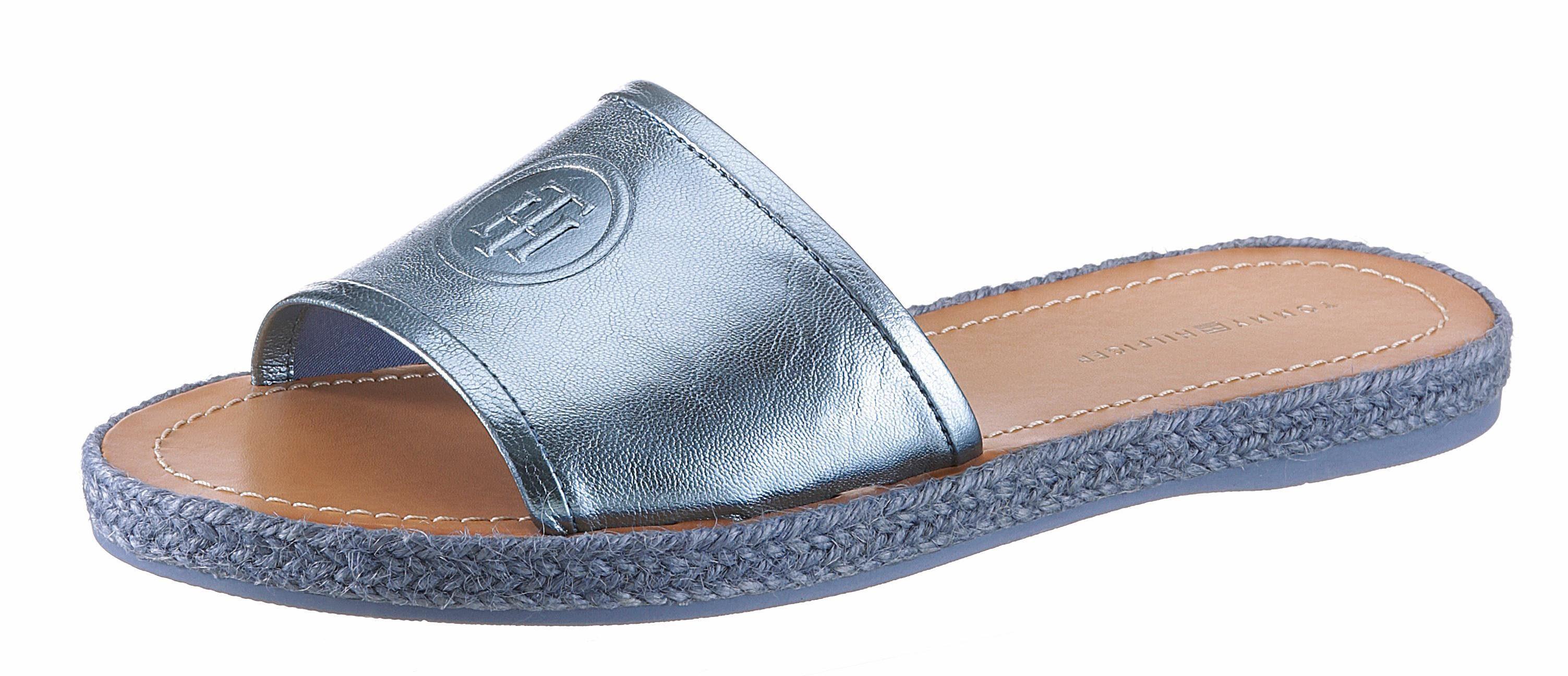 Tommy Jeans Tommy Jeans Sandalen »metallic Flatform Sandal«, Goldfarben, Rose Gold