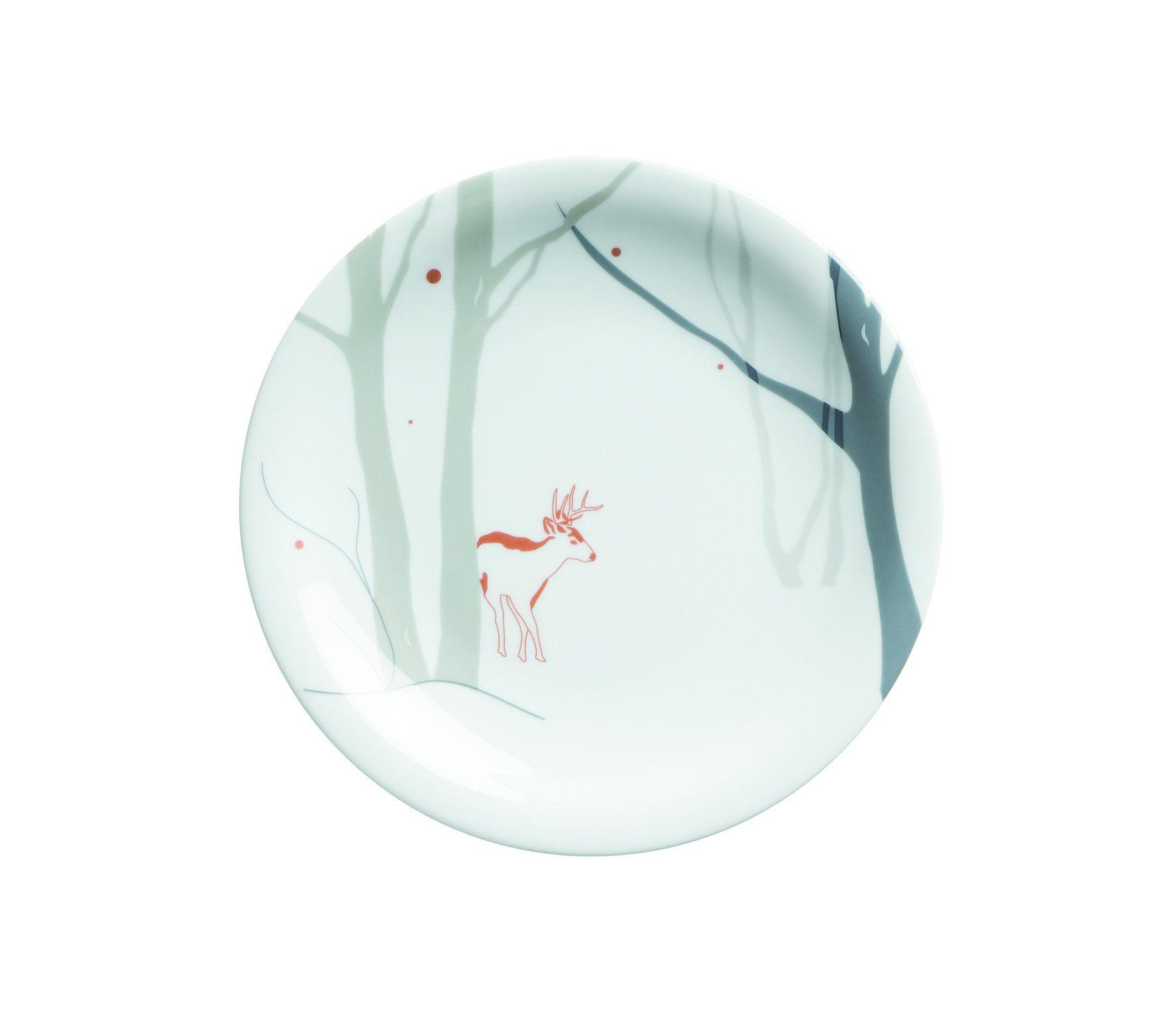Kahla Kuchenteller »Winter Update Winter's Tale Reh«