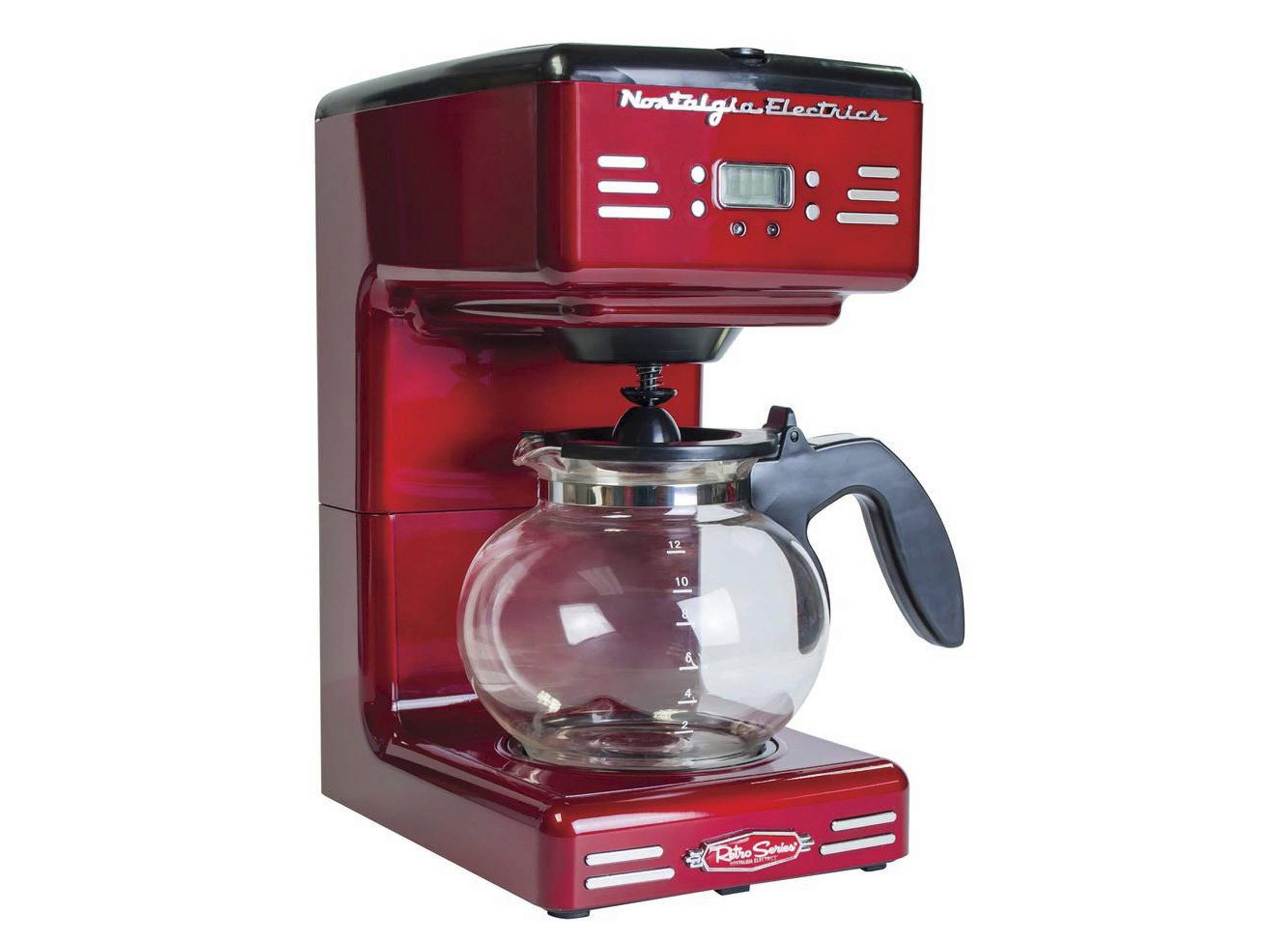 Ricatech Retro Kaffeemaschine für Filterkaffee, 1000 Watt »Coffemaker - RCOF120«