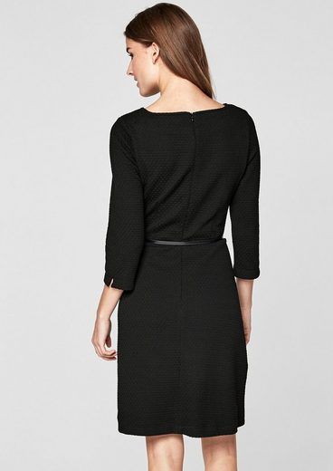 S.oliver Black Label Stretch Dress With Structure