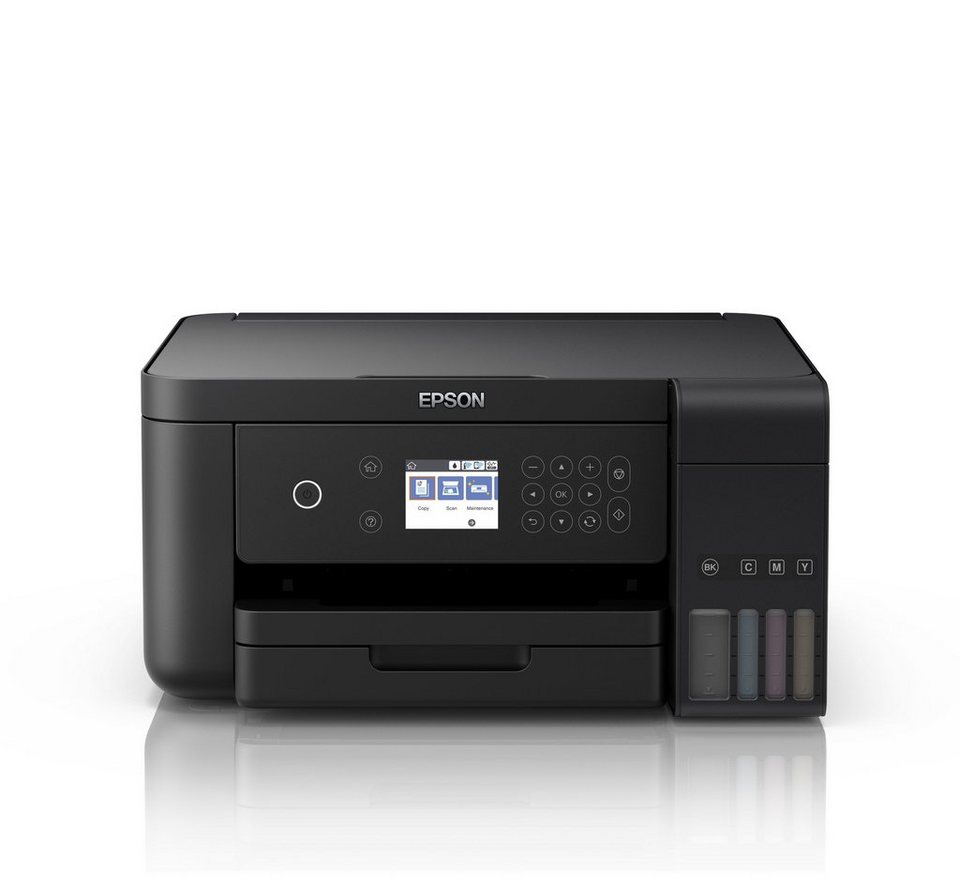 Epson EcoTank ET-3700 A4 Drucker »Farbe, USB, Wifi, 3in1« online ...