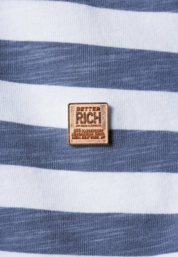 Better Rich T-Shirt BOXY STRIPE LOVE