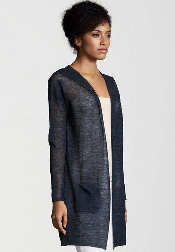 Better Rich Strickjacke Hooded Linen