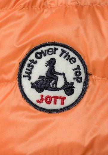 JOTT Daunenjacke CHA, die Jacke ist zusammenfaltbar und in einem dazugehörigen Beutel verstaubar