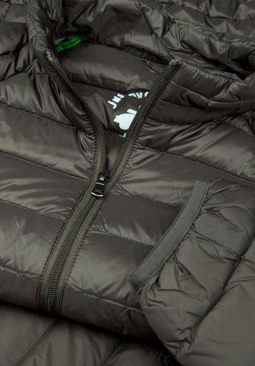JOTT Daunenjacke MAT, Die Jacke ist im mitgelieferten Beutel verstaubar.