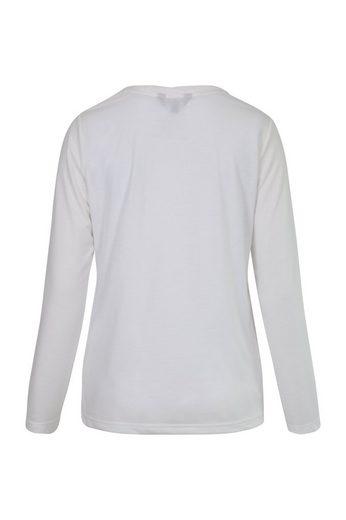 NAVIGAZIONE Rundhalsshirt, leichte Ware, schöne Details