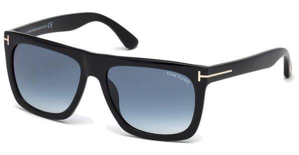 Tom Ford Sonnenbrille »Morgan FT0513«, schwarz, 01W - schwarz/blau