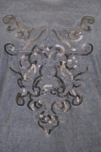 NAVIGAZIONE Rundhalsshirt, einzigartige Waschung, jedes Teil ein Unikat