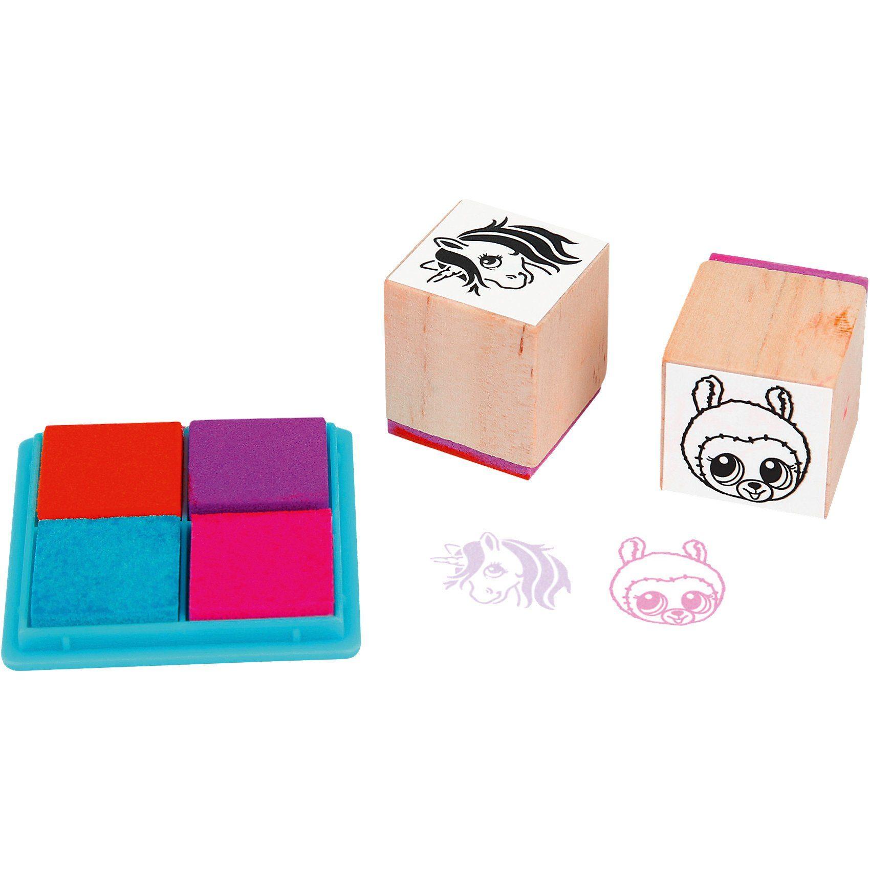 Depesche Ylvi & the Minimoomis Stamping Fun Set
