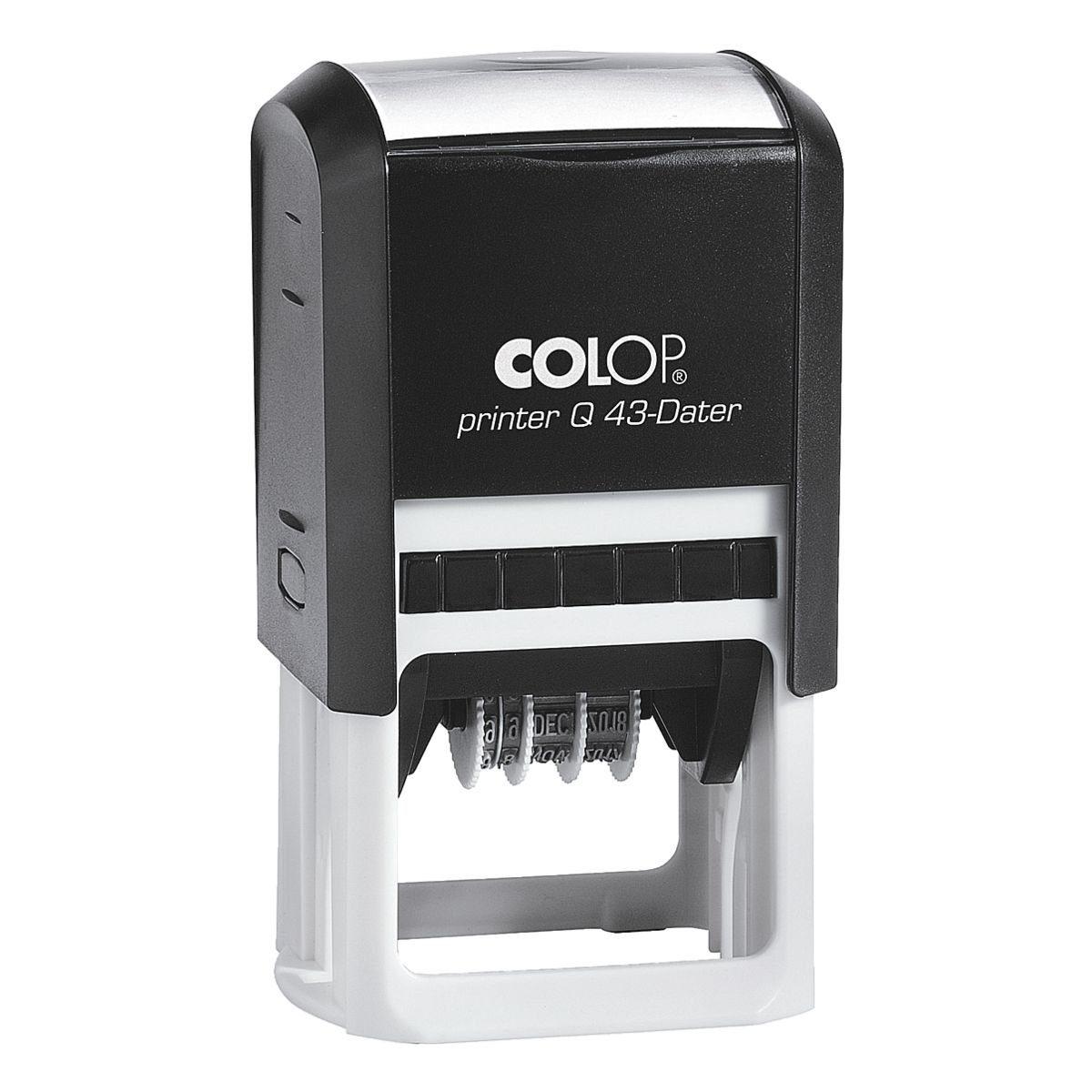 COLOP Selbstfärbender Datumsstempel »Printer Q43 Dater«