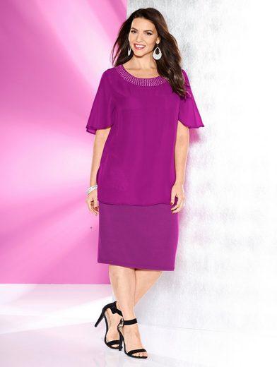 MIAMODA Kleid in Doppeloptik