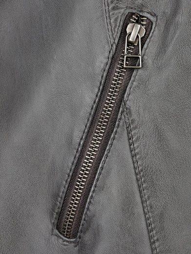 MIAMODA Lederjacke aus weichem Lammnappa Leder