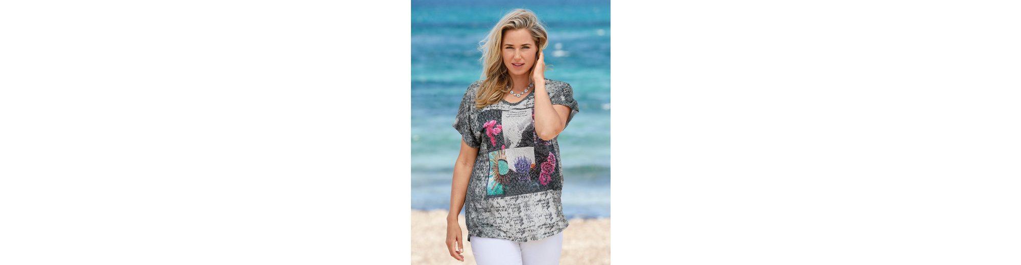 Rabatt Bilder MIAMODA Shirt in leichter Ausbrenner-Qualität Finish Günstiger Preis cOc53