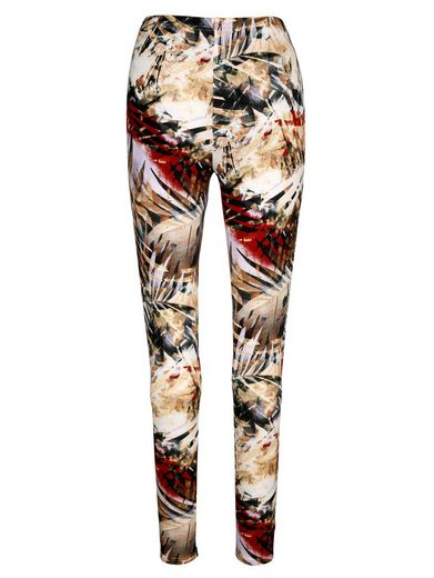 MIAMODA Leggings mit Safari-Druckmuster