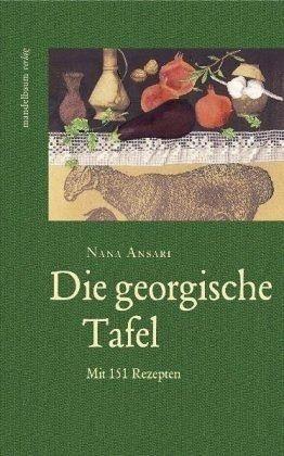 Buch mit Leinen-Einband »Die georgische Tafel«