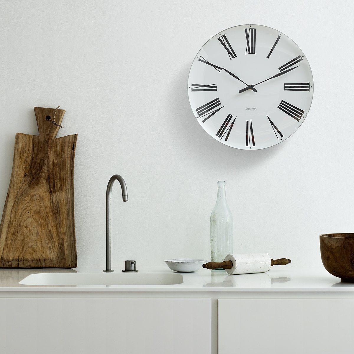 Rosendahl Arne Jacobsen Wanduhr Roman Clock 480