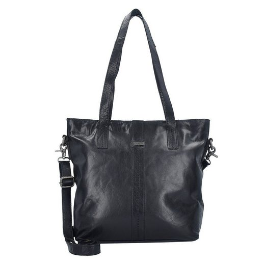 Spikes & Sparrow Bronco Shopper Tasche Leder 31 cm