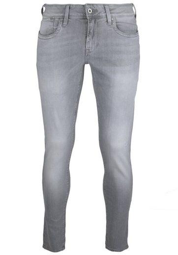 Pepe Jeans 5-Pocket-Jeans HATCH grey, Nieten