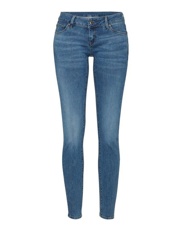 g star raw skinny fit jeans 3301 low waist niedrige. Black Bedroom Furniture Sets. Home Design Ideas