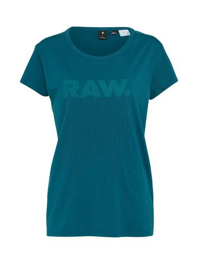 G-Star RAW Rundhalsshirt »Yldia straight«