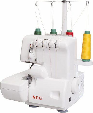 AEG Overlock-Nähmaschine AEG 760A, 9 Programme
