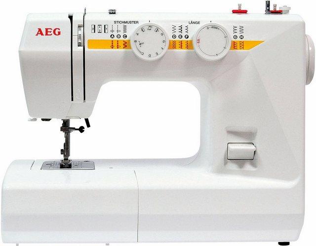 AEG Freiarm-Nähmaschine AEG1715, 24 Programme | Flur & Diele > Haushaltsgeräte > Strick und Nähmaschinen | Weiß | AEG