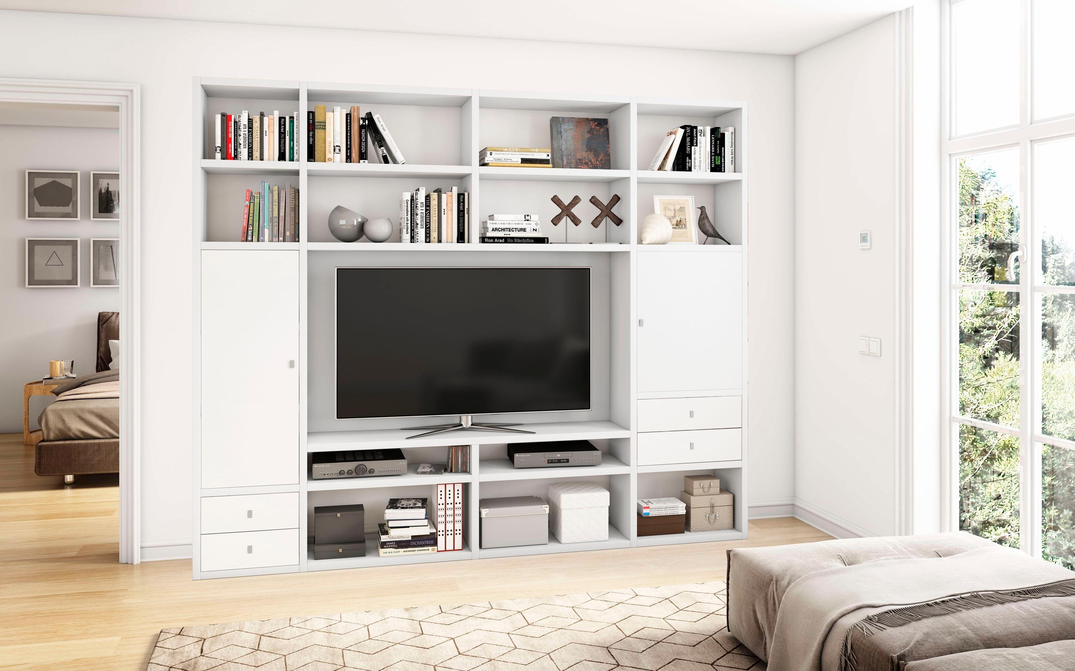 wohnwand hochglanz creme good cheap wohnwand serrano in pinie crema with wohnwand pinie with. Black Bedroom Furniture Sets. Home Design Ideas