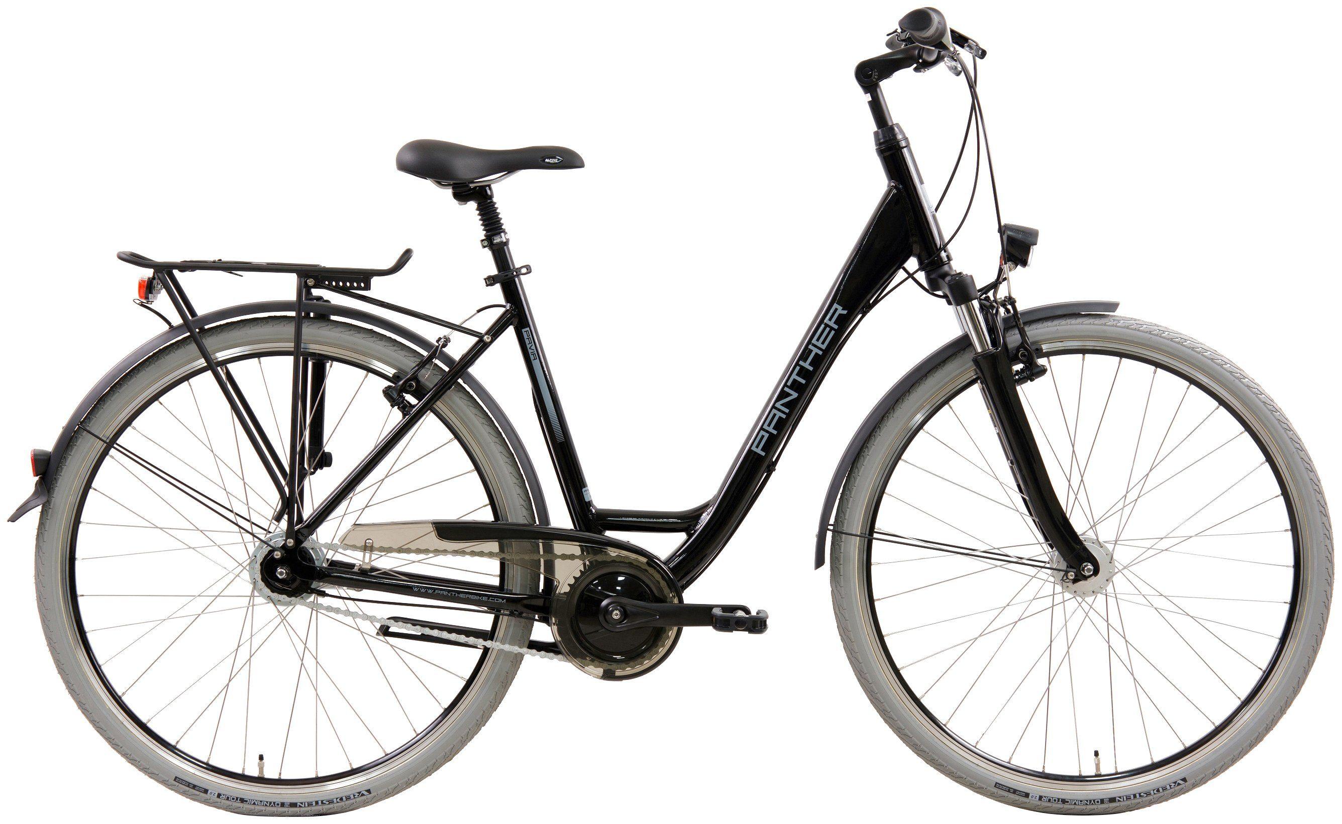 PANTHER Citybike Damen »Pavia«, 28 Zoll, 8 Gang, Felgenbremse