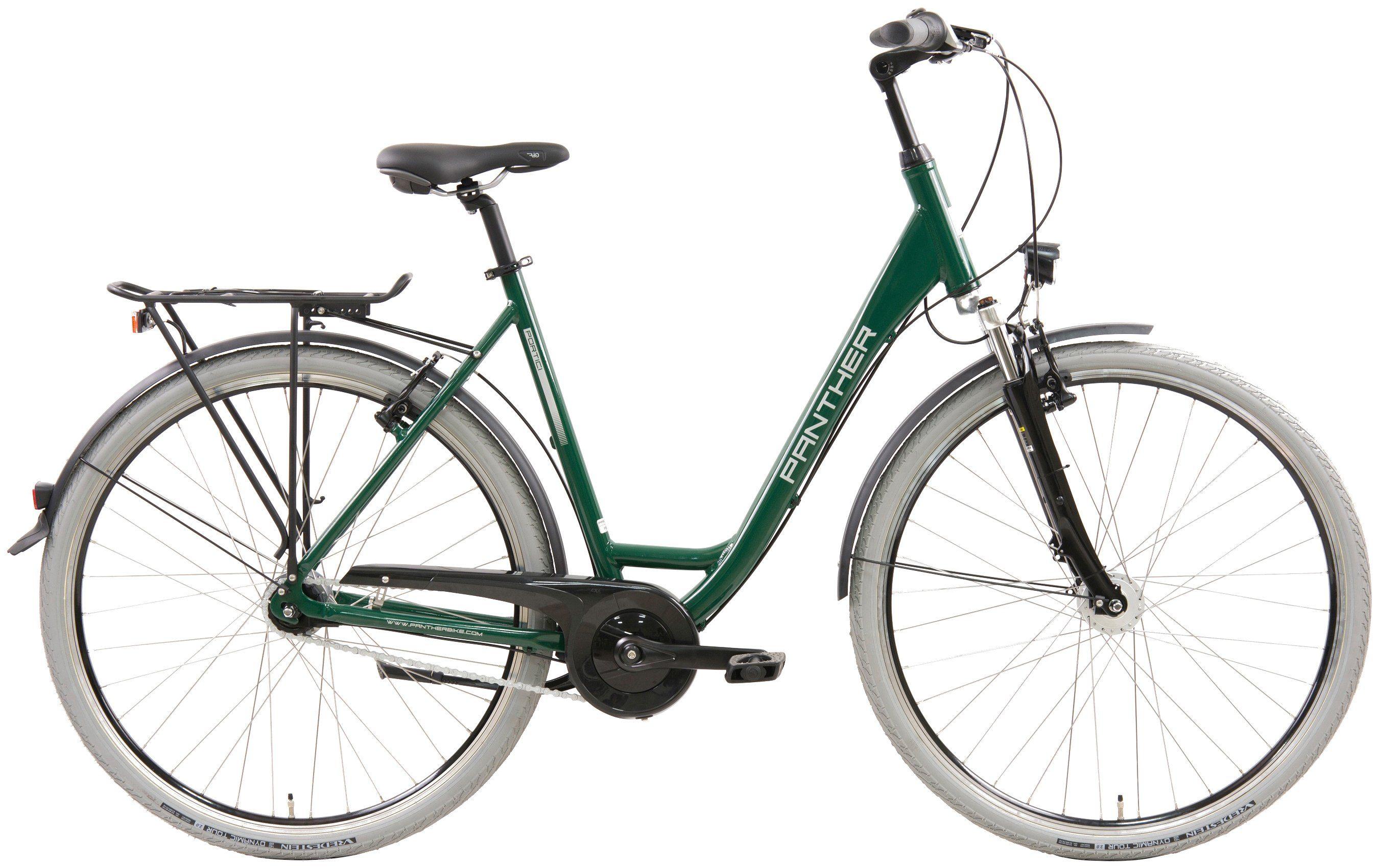 PANTHER Citybike Damen »Portici«, 28 Zoll, 7 Gang, Felgenbremse