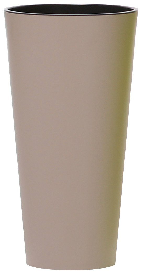 PROSPERPLAST Pflanzkübel »Tubus slim«, mocca, Ø 40