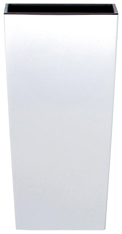 Blumentopf »Urbi square«, weiß, B/T/H: 32,5/32,5/61 cm