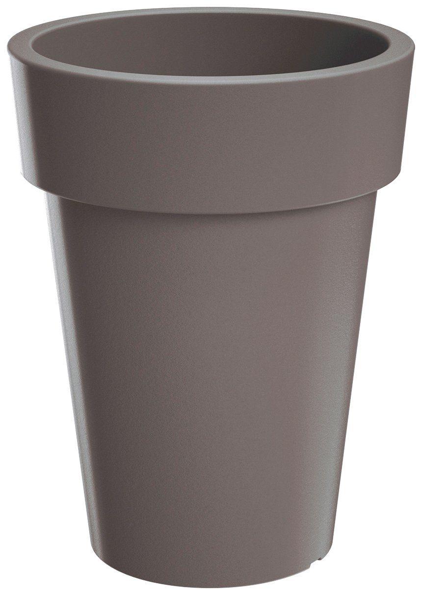 PROSPERPLAST Pflanzkübel »Lofly slim«, steingrau, Ø 24,5