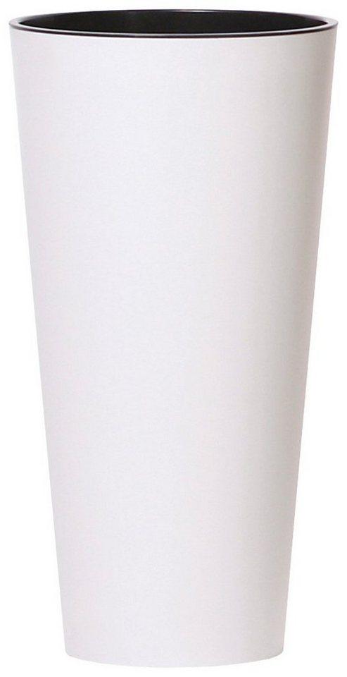 PROSPERPLAST Pflanzkübel »Tubus slim«, weiß, Ø 40 | OTTO