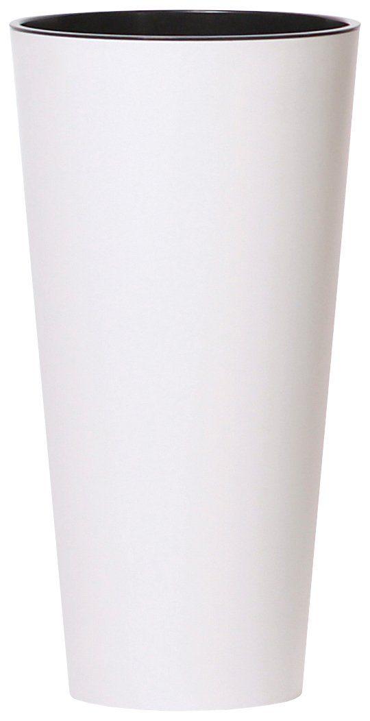 PROSPERPLAST Pflanzkübel »Tubus slim«, weiß, Ø 40