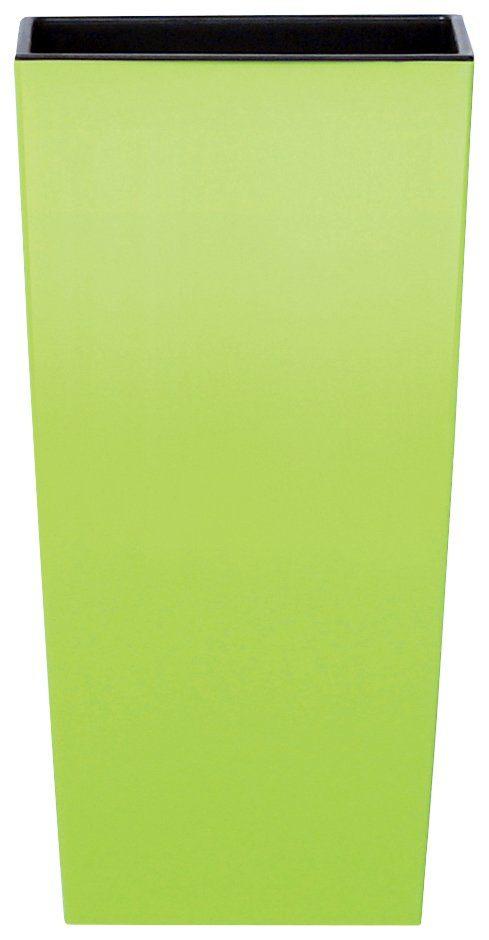 PROSPERPLAST Blumentopf »Urbi square«, lindgrün, B/T/H: 32,5/32,5/61 cm
