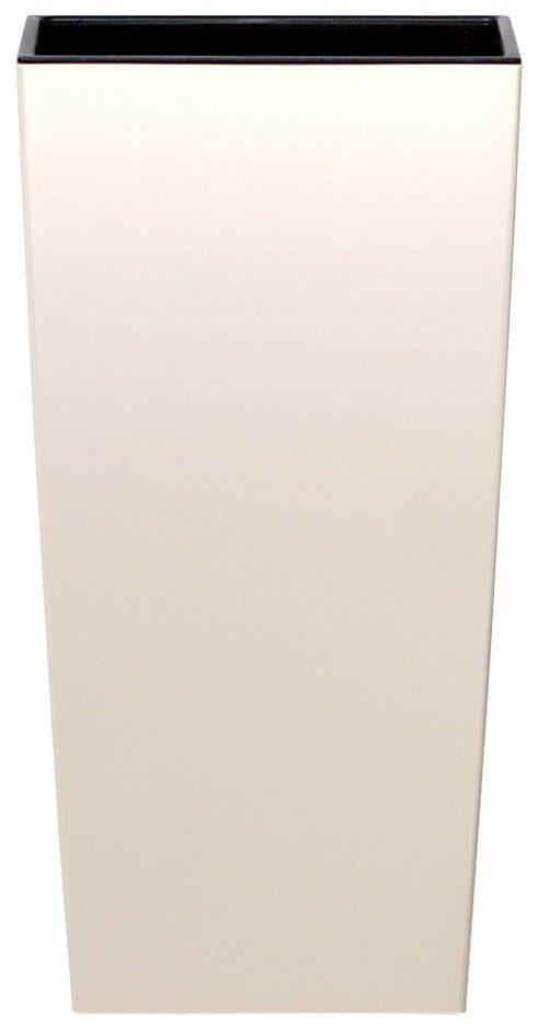 PROSPERPLAST Blumentopf »Urbi square«, creme, B/T/H: 40/40/75 cm