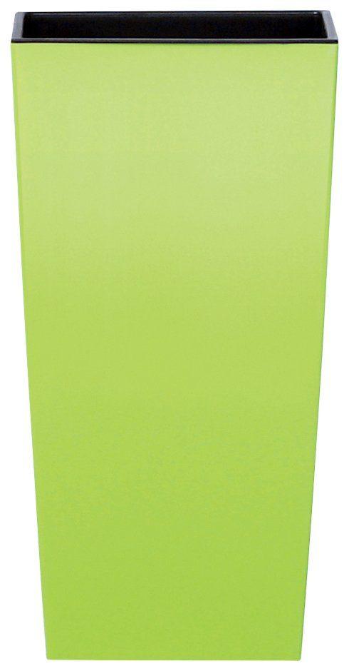 PROSPERPLAST Blumentopf »Urbi square«, lindgrün, B/T/H: 22/22/42 cm