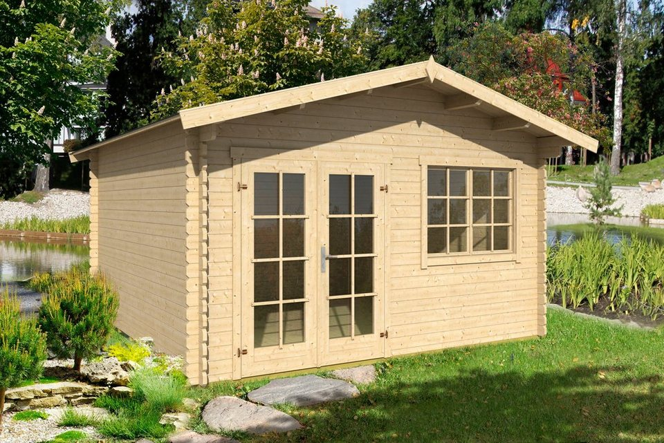 Gartenhaus Ohne Fußboden ~ Outdoor life products gartenhaus »montana 2« bxt: 435x370 cm inkl