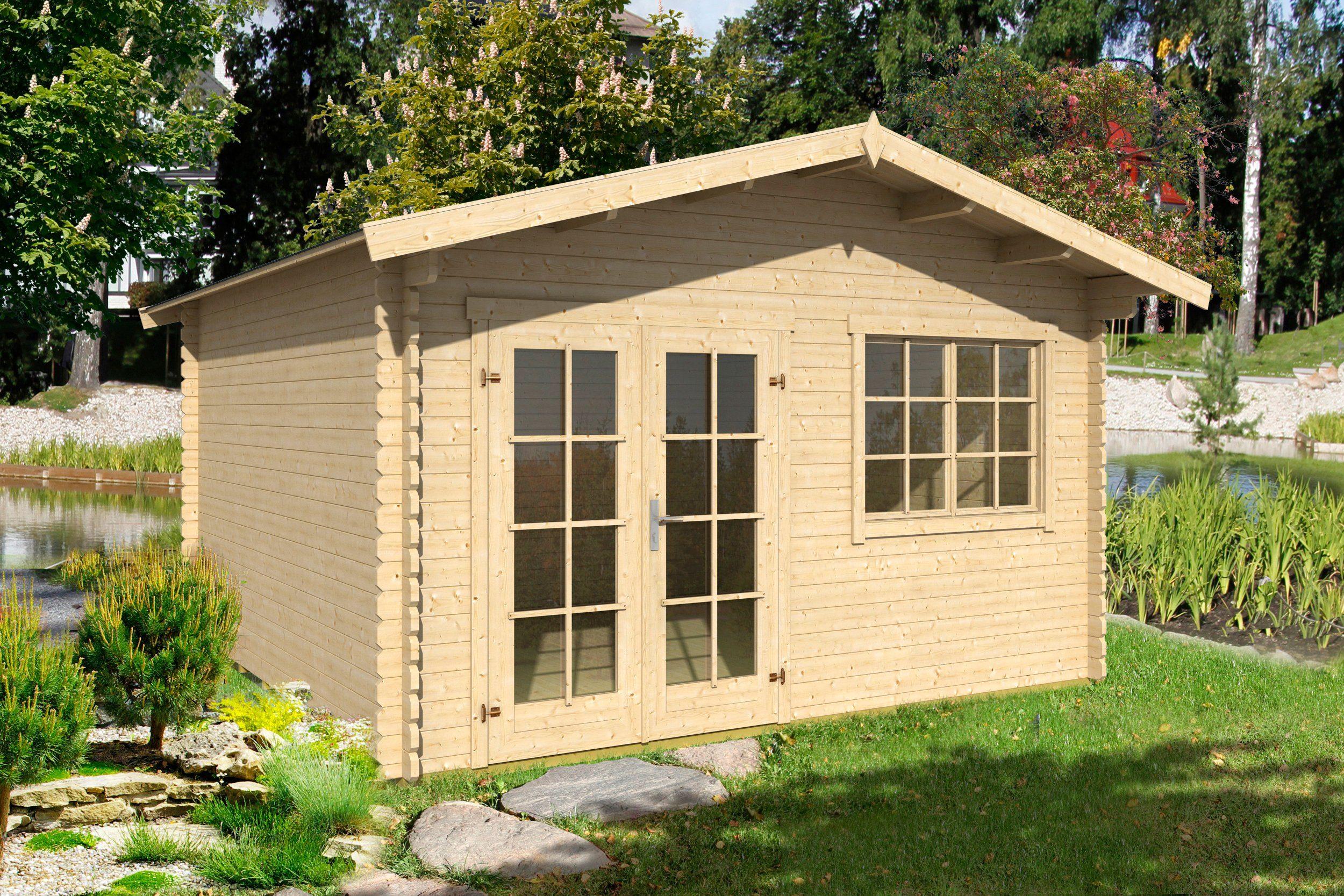 Gartenhaus »Montana 2«, Gesamtmaß (BxT): 410x320 cm