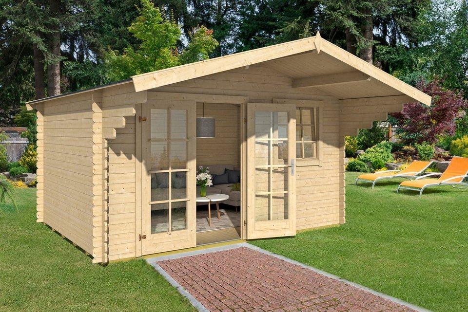 gartenhaus orlando 28 gesamtma bxt 400x300 cm online kaufen otto. Black Bedroom Furniture Sets. Home Design Ideas