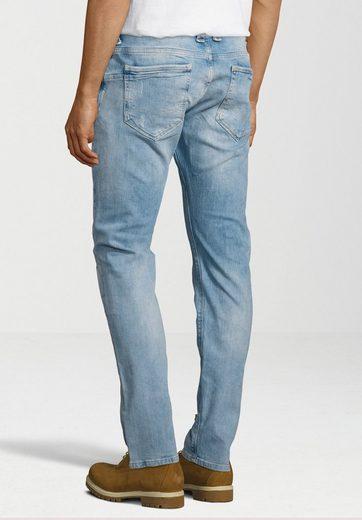 Pepe Jeans 5-Pocket-Jeans ZINC, Hinterlegte Löcher