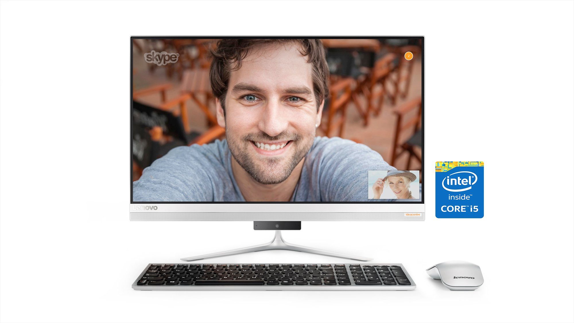 Lenovo All-in-one PC »AIO 510-23ISH I5-7400T 8GB«
