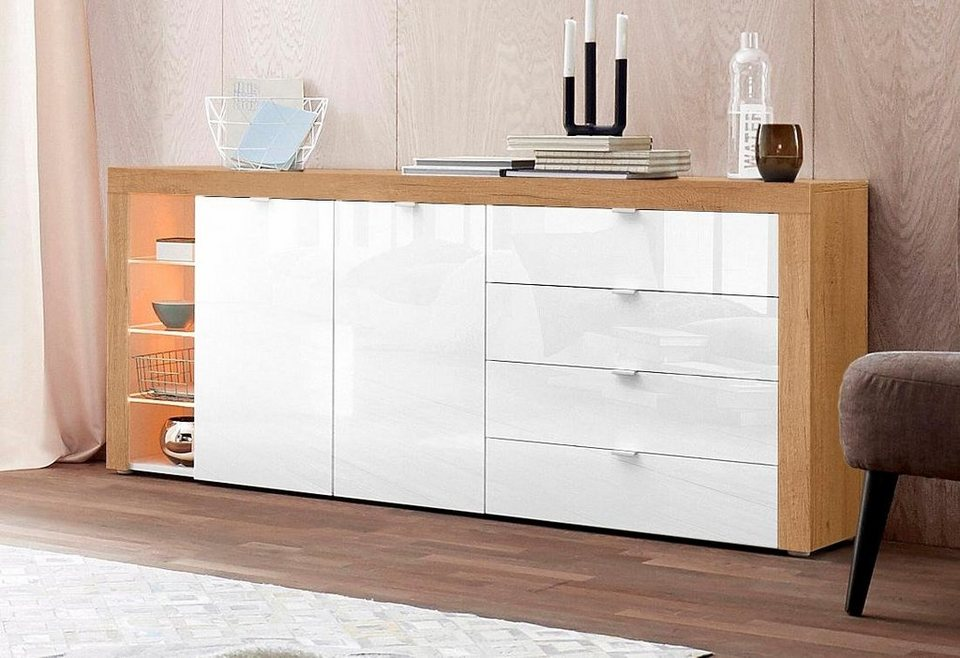 borchardt m bel sideboard bilbao breite 173 cm otto. Black Bedroom Furniture Sets. Home Design Ideas