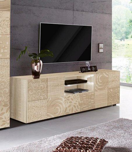 LC »Miro« Lowboard, Breite 181 cm mit dekorativem Siebdruck