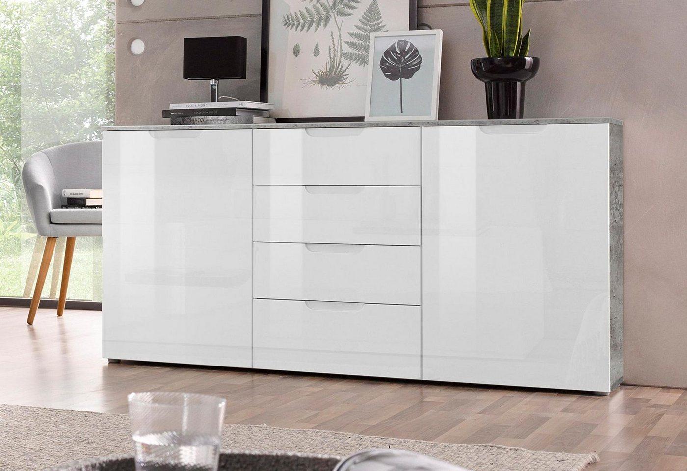hochglanz sideboard machen sie den preisvergleich bei nextag. Black Bedroom Furniture Sets. Home Design Ideas