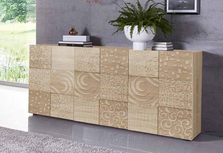 LC »Miro« Sideboard, Breite 181 cm mit dekorativem Siebdruck