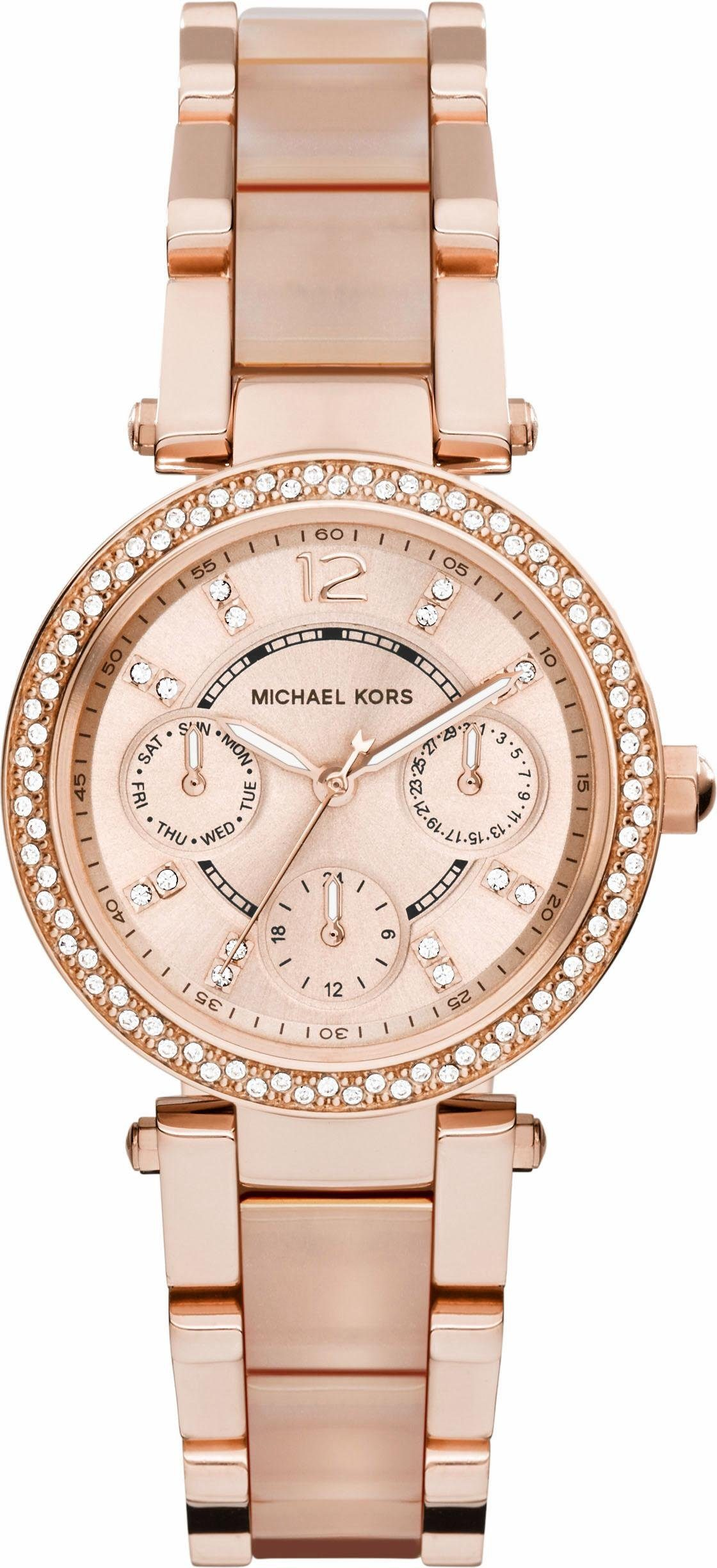 MICHAEL KORS Multifunktionsuhr »MINI PARKER, MK6110«