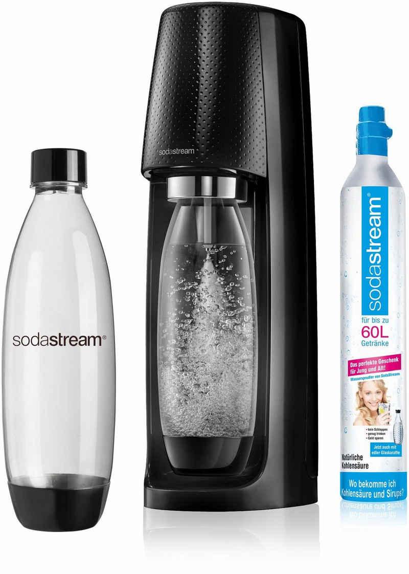 SodaStream Wassersprudler »Easy«, (Set, 3-tlg., 1 Wassersprudler, 1 PET-Flasche, 1 Zylinder)