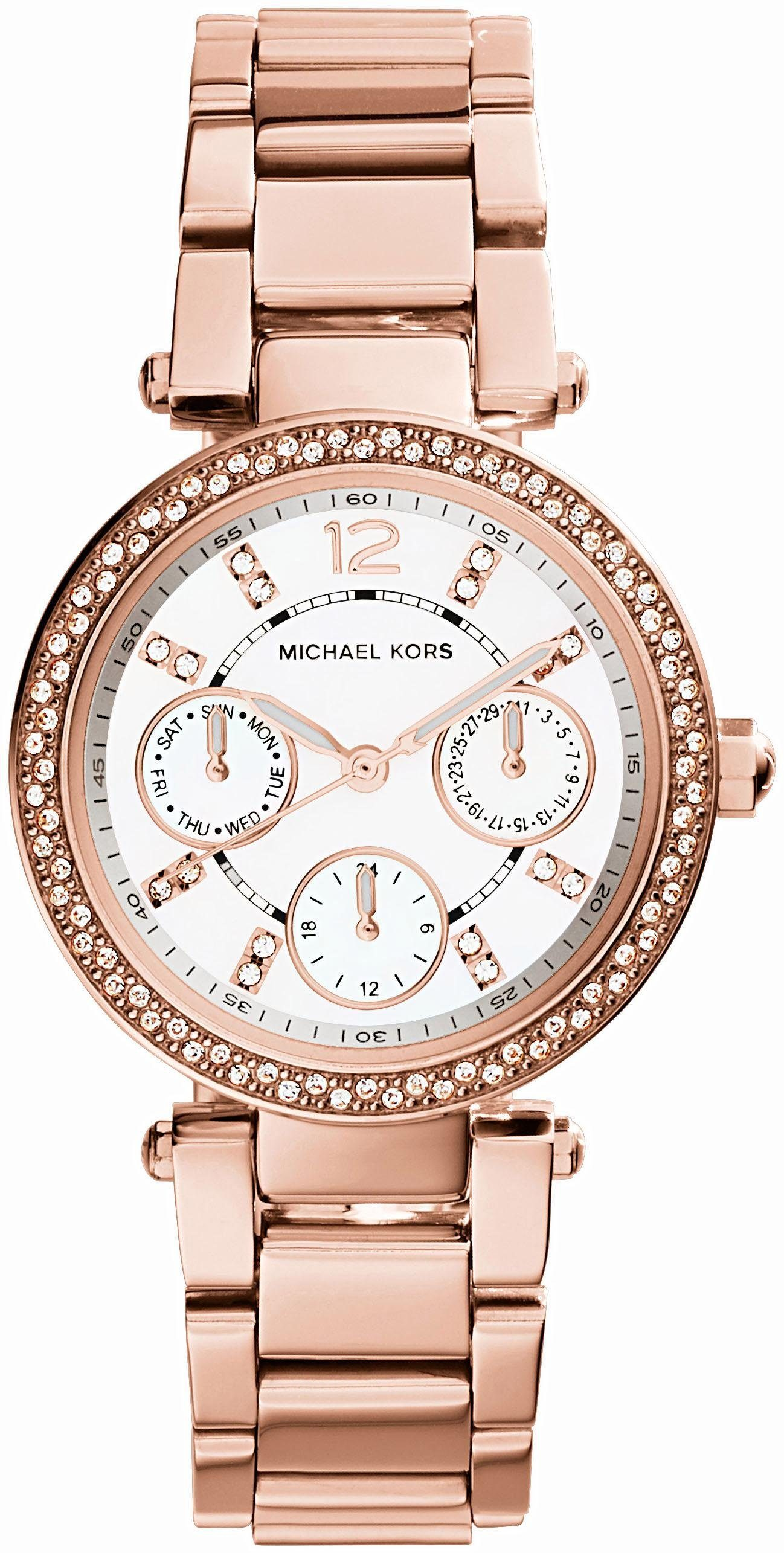 MICHAEL KORS Multifunktionsuhr »MINI PARKER, MK5616«